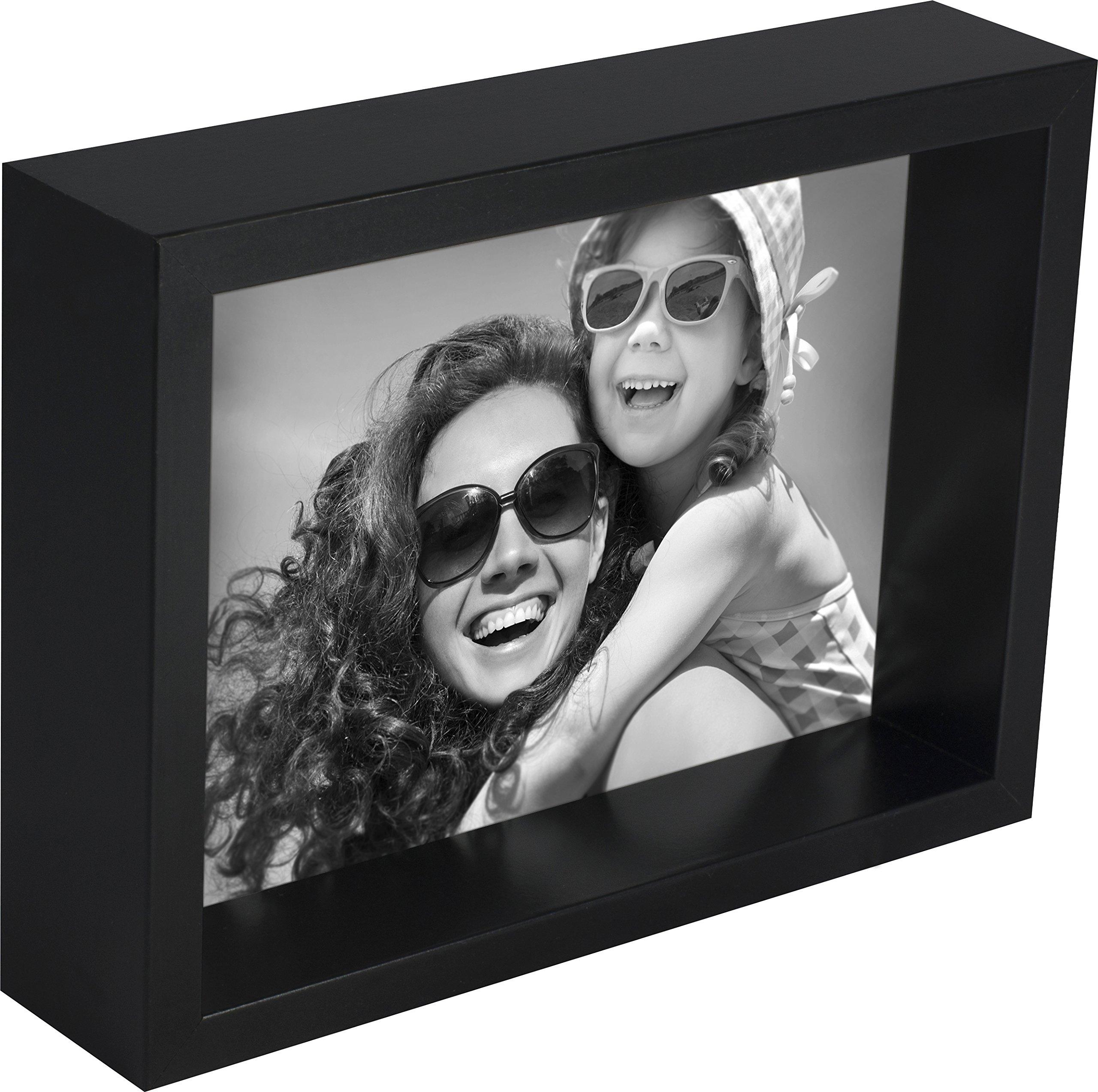 BD ART 10 x 15 cm Box Cadre Photo, Noir product image
