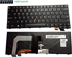 aGooDo US Backlit Keyboard for Lenovo Thinkpad T460S T470S 00PA452 00PA482 20F9 20FA 20HF 20HG 20JS 20JT SN20H42364