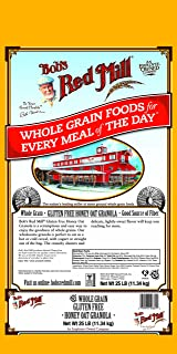 product image for Bob's Red Mill Gluten Free Honey Oat Granola, 25 Pound