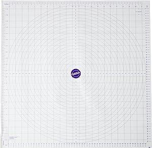 Wilton Measuring Mat, Polyester, White, 60.4 cm x 59.1 cm