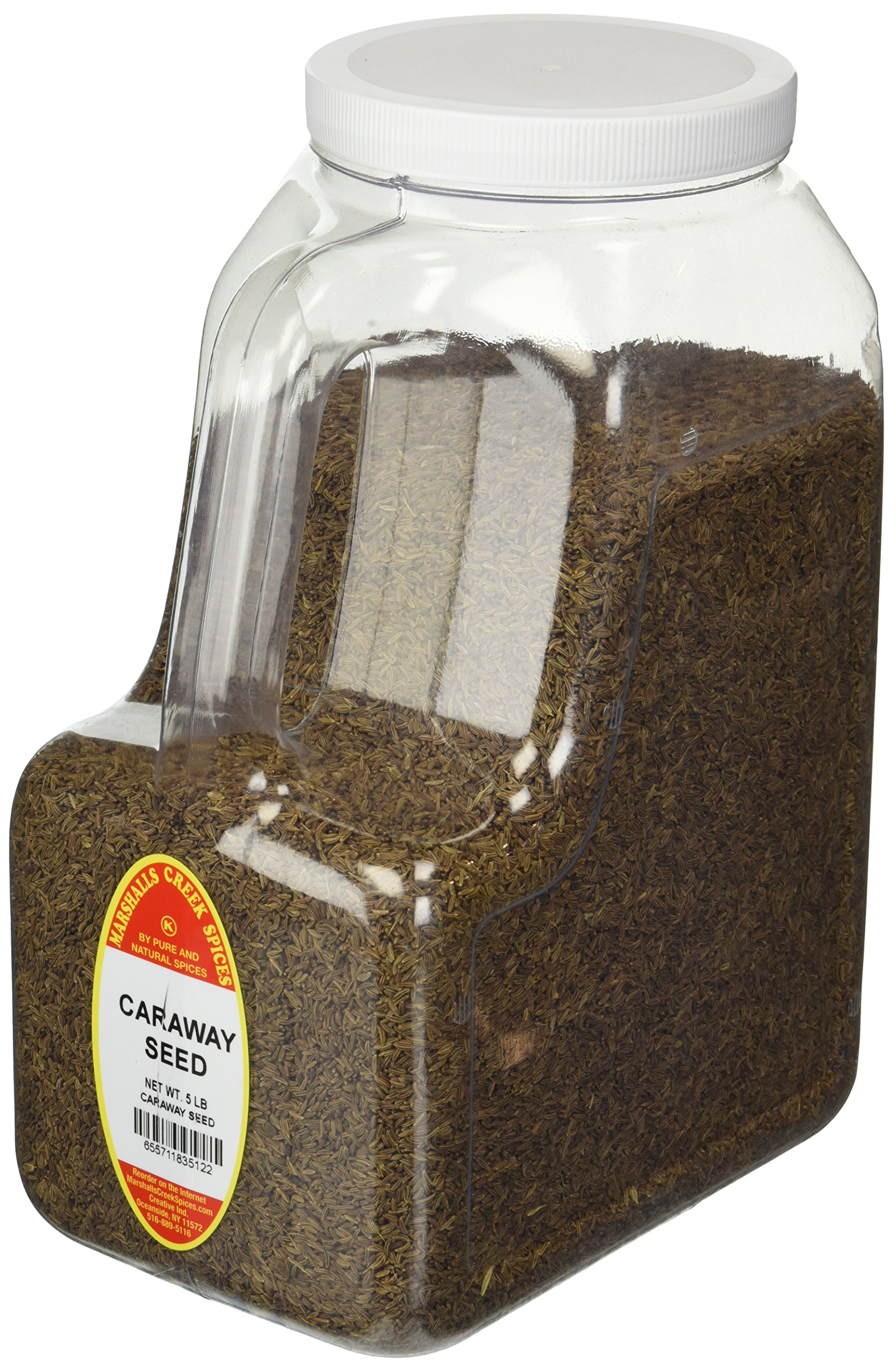 Marshalls Creek Spices CARAWAY SEED 5 LB. RESTAURANT SIZE JUG, 5 Pound