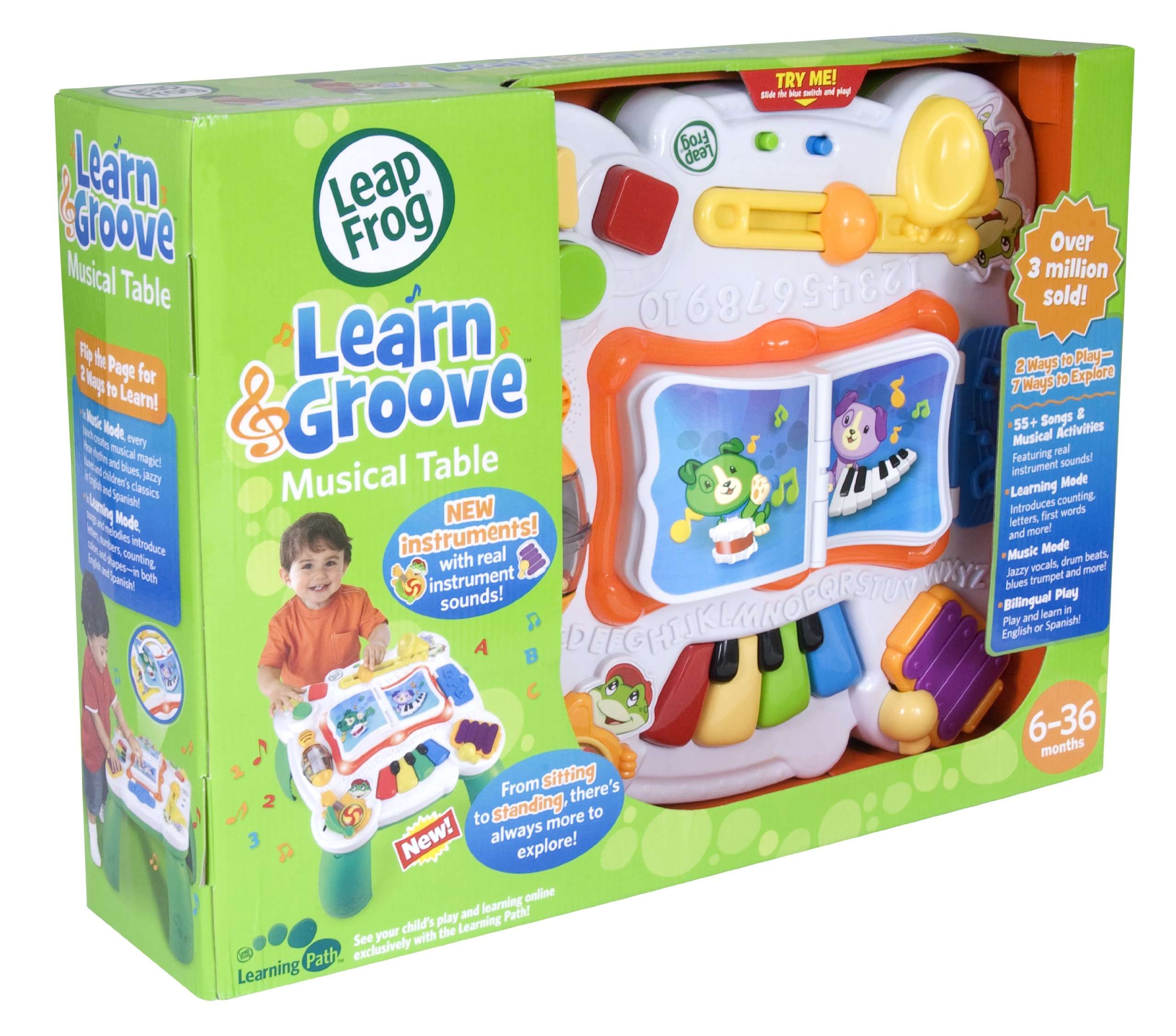 LeapFrog Learn & Groove Musical Table by LeapFrog (Image #3)