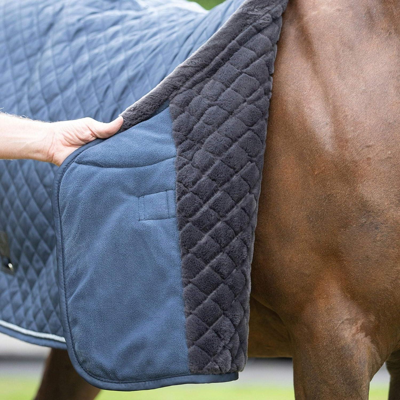 Navy Blue LeMieux Lustre Horse Show Rug