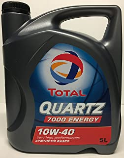 Total 1951052031 - Aceite Motor Quartz Diesel 7000 10w40 5l