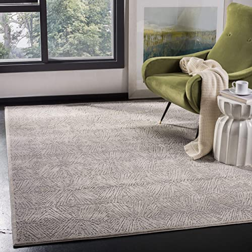 Safavieh Meadow Collection MDW319A Area Rug, 8 x 10 , Ivory Grey