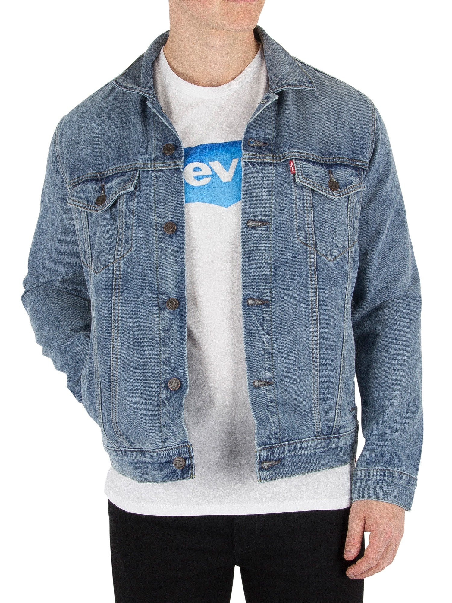 Levi's Jean Jacket The Trucker - ICY, M by Levi's