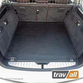 Travall Liner Kofferraumwanne Tbm1064 Maßgeschneiderte Gepäckraumeinlage Mit Anti Rutsch Beschichtung Auto
