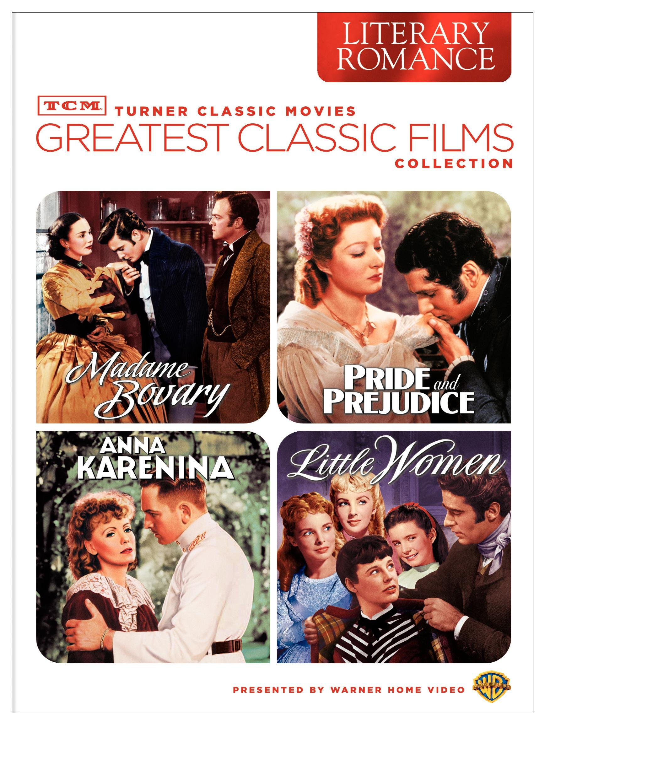 TCM Greatest Classic Films Collection: Literary Romance (Little Women / Pride and Prejudice / Madame Bovary / Anna Karenina) by WarnerBrothers
