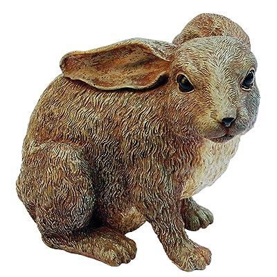 Michael Carr 507012BGY Junior Rabbit : Michael Carr Rabbit Garden Statues : Garden & Outdoor