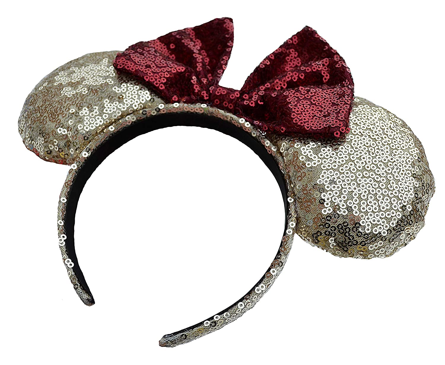 Charmed Creations Mickey//Minnie Mouse Ears Princess Inspired Bow Headband One Size Fits All Princess Party