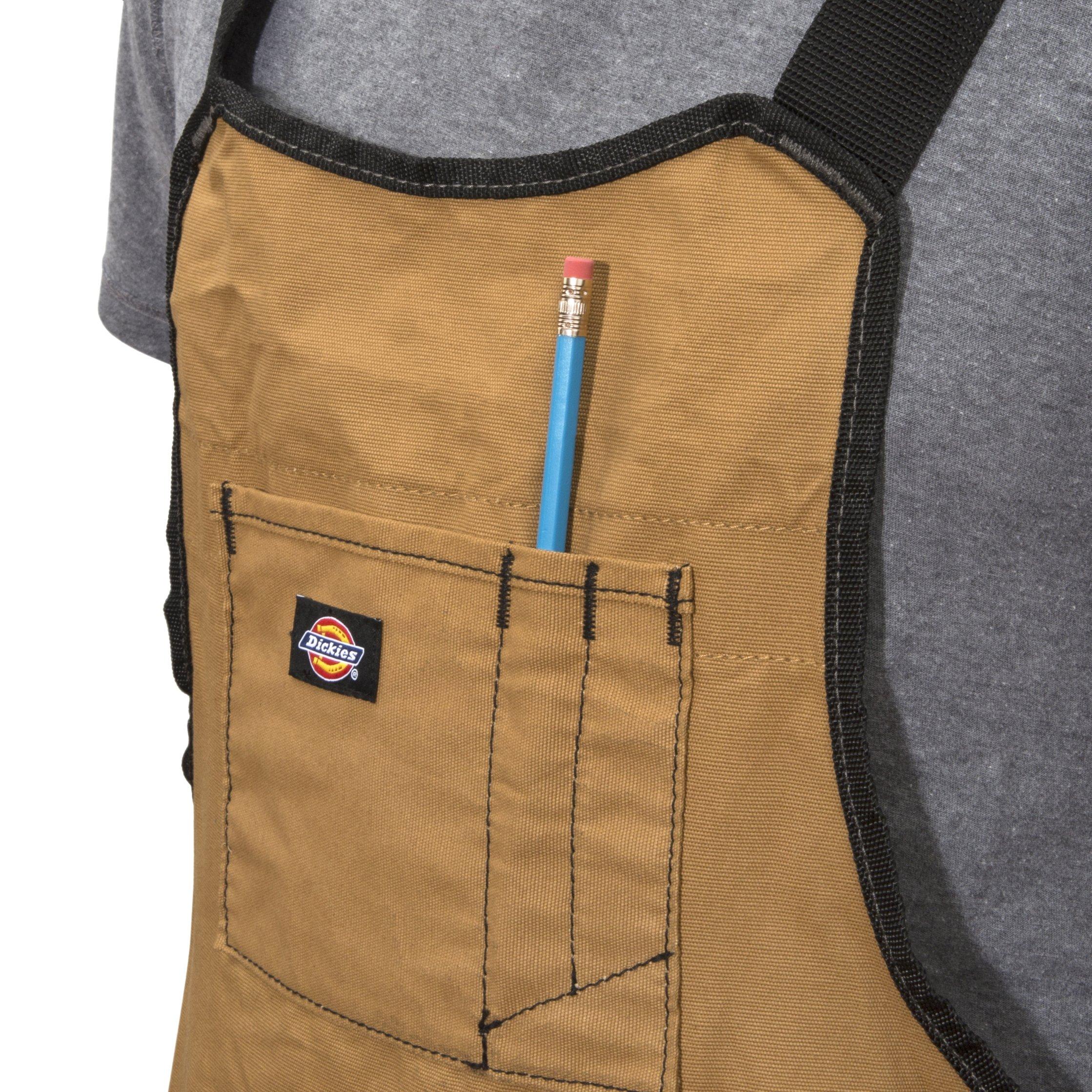 Dickies Work Gear 57027 Grey/Tan 16-Pocket Bib Apron by Dickies Work Gear (Image #3)