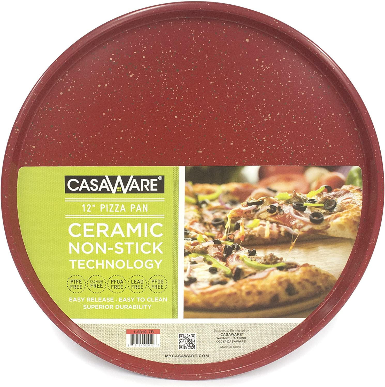 casaWare Pizza/baking Pan 12-inch (Red Granite)