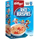 Kellogg's Rice Krispies Cereal Original, Family Size, 640g, Original Rice Flavour, 640 Grams