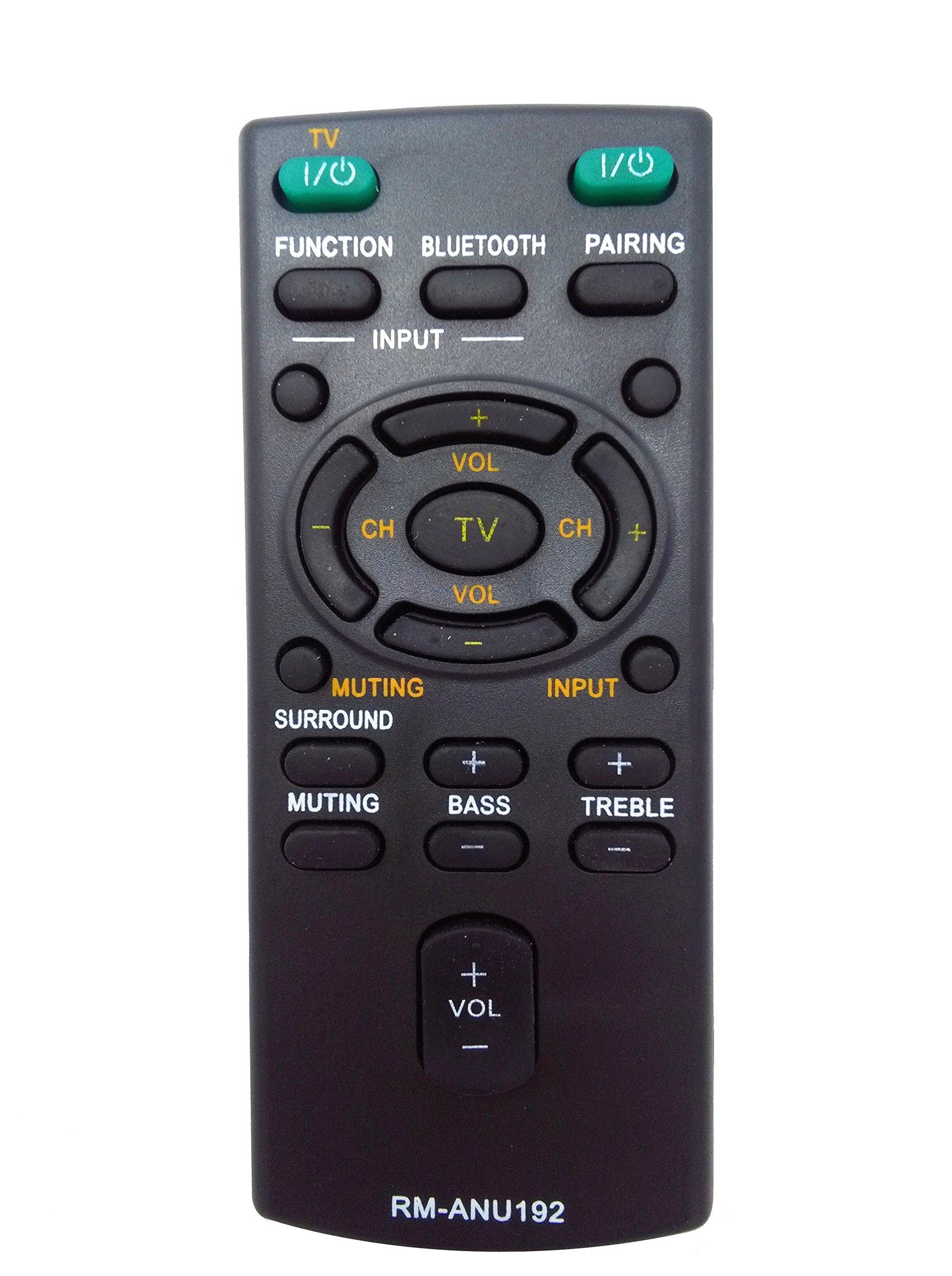 Control Remoto Vinabty Rm anu192 Rm anu191 Sony Sound Bar...