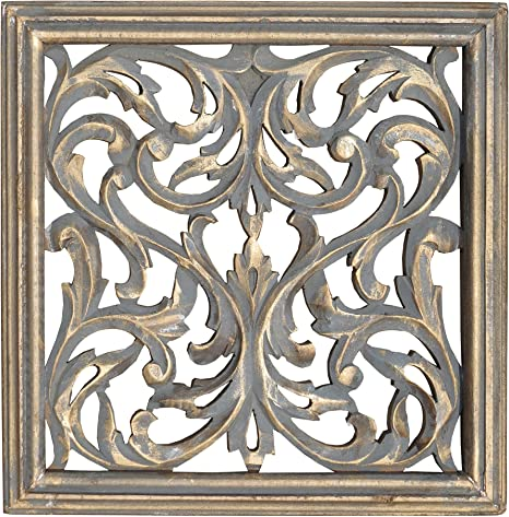 Silver and White Passion Plaque Beauty Wall Art Home Living Decor
