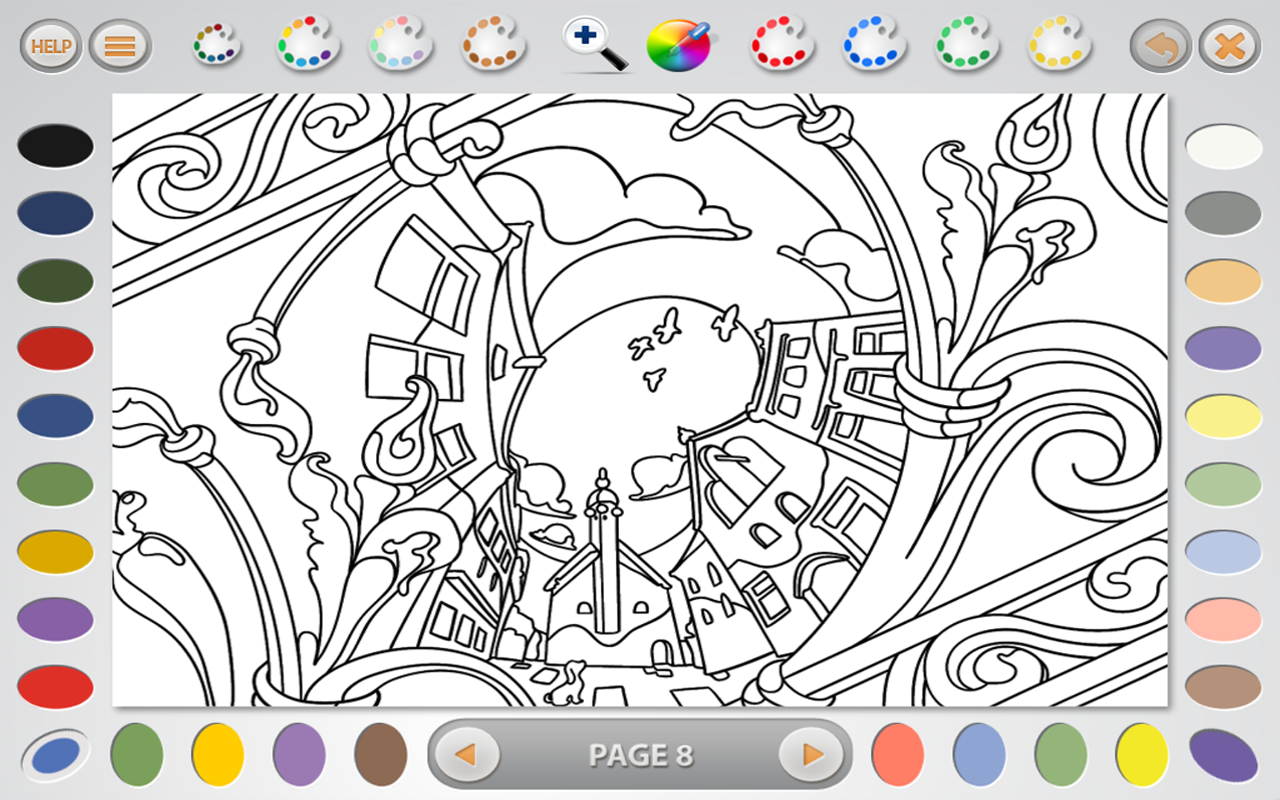 Amazon.com: Intricate Coloring 1 Lite: Places: Appstore for Android