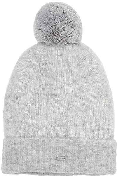 c4e88b382cb Tommy Hilfiger Women s Modern Pom Pom Beanie Hat