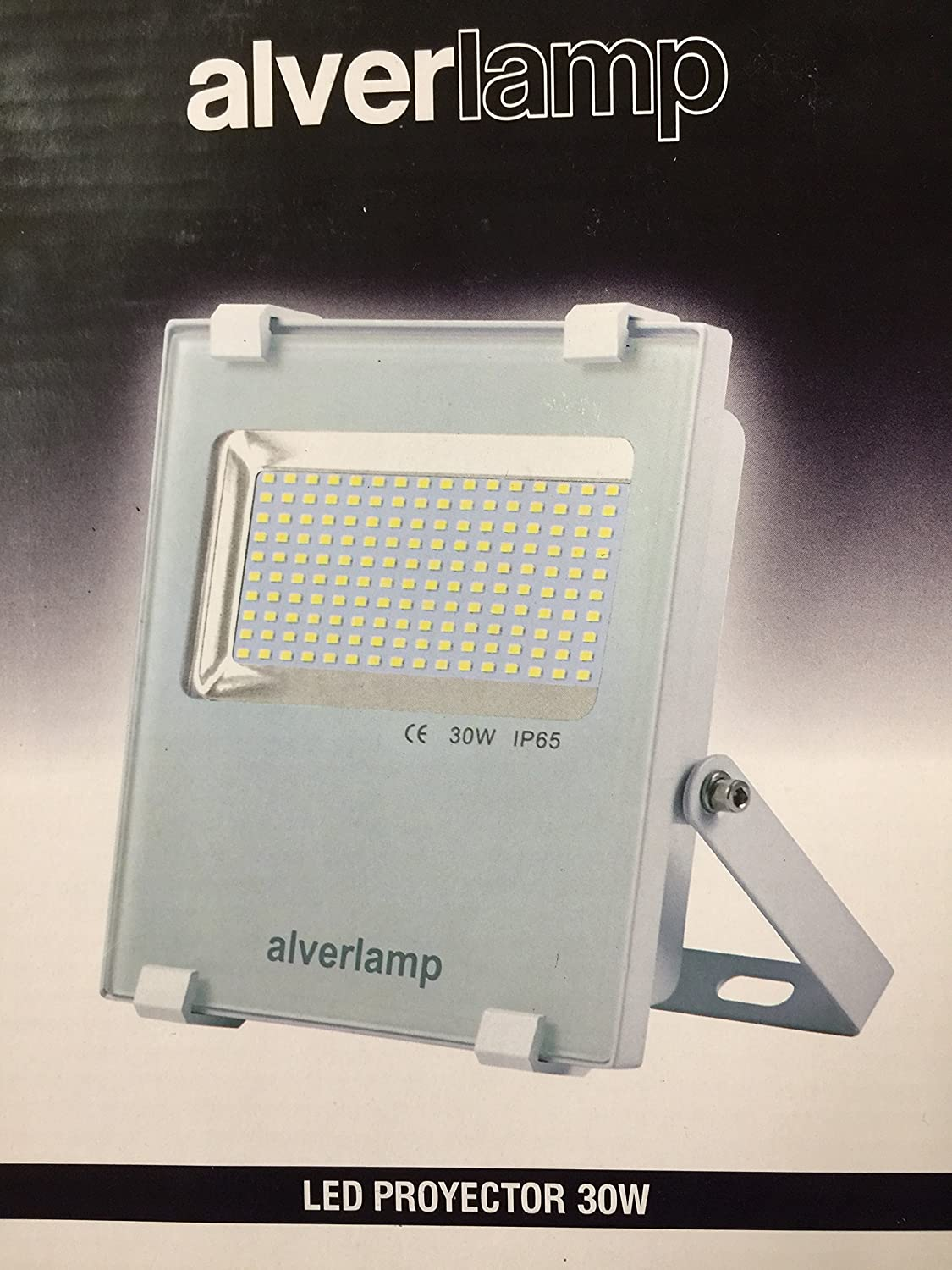 Alverlamp LSPRO3041W - Proyector led 30w 4000k blanco: Amazon.es ...