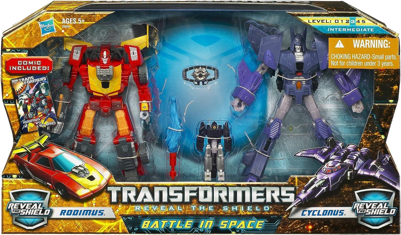 Transformers Reveal The Shield COMIC Lot from cyclonus vs rodimus set