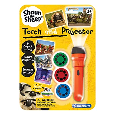 Brainstorm Toys Aardman Shaun The Sheep Torch and Projector: Toys & Games