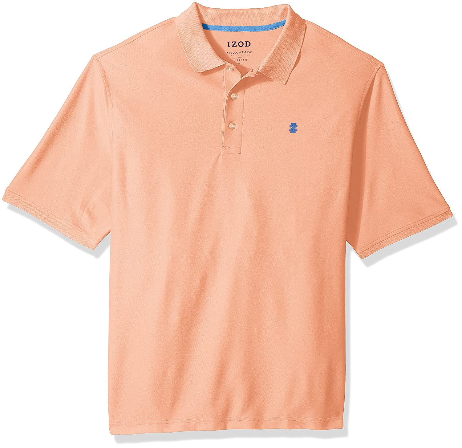 IZOD SHIRT メンズ B076MZ1GRY L|Papaya Punch Papaya Punch L