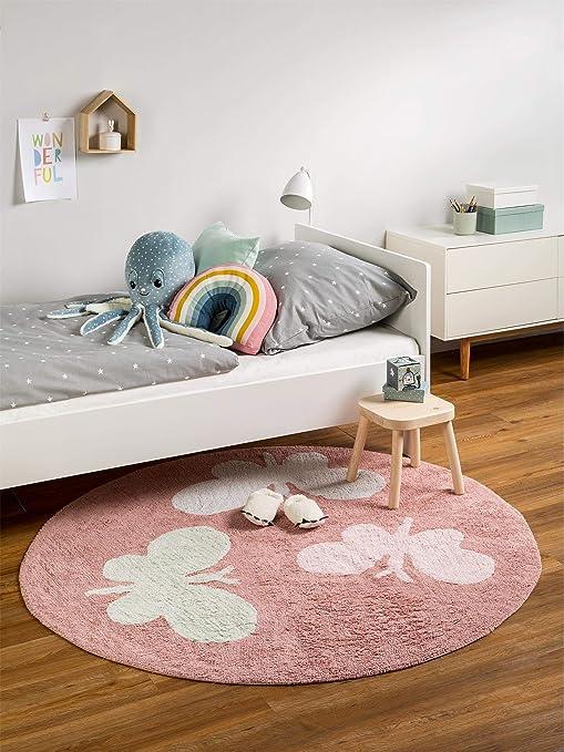 Benuta Alfombra Infantil (Bambini Butterflies | Alfombra para de ...