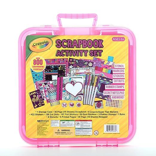 Amazon Crayola Children Kids Scrapbook Arts Supplies Activity