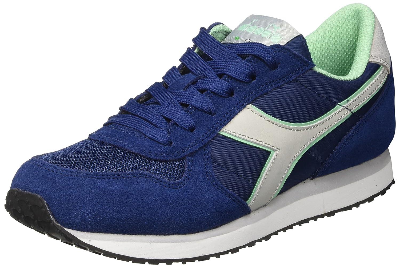 Diadora K-Run W, Zapatillas para Mujer 36 EU Azul (Blu Estate/Grigio Alluminio)