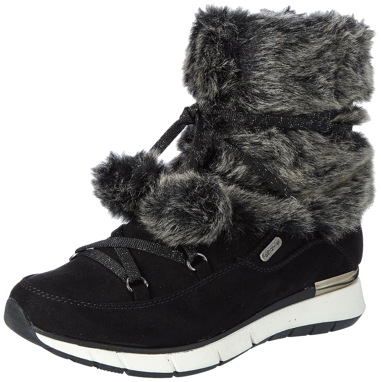 Marco Tozzi 26860, Botas de Nieve para Mujer40 EU Negro (Black Comb)