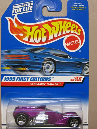 Hot Wheels ~ 1999 First Editions ~ #918 Screamin/' Hauler