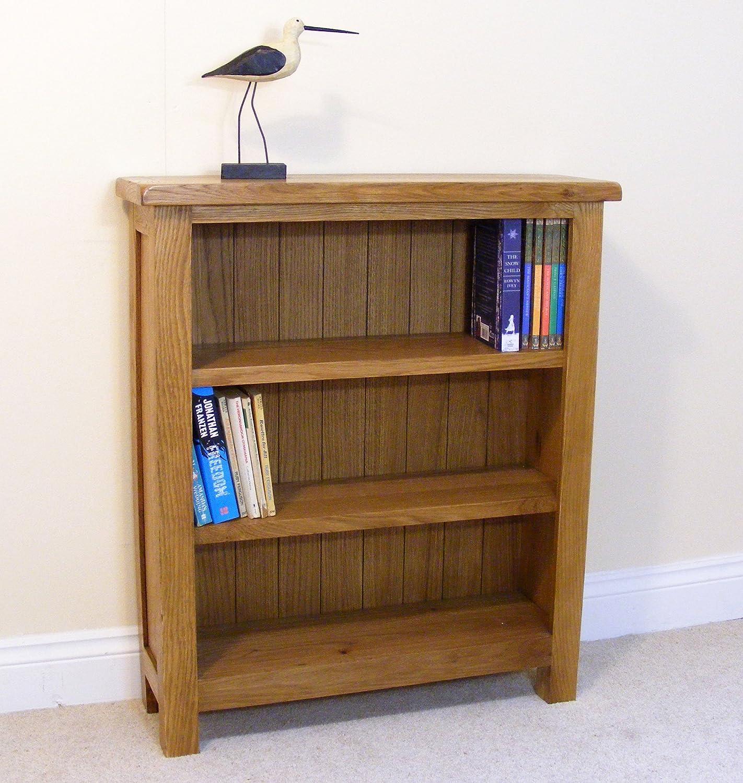 Lanner Oak Small Bookcase By Roseland Furniture Ltd: Amazon: Kitchen  & Home