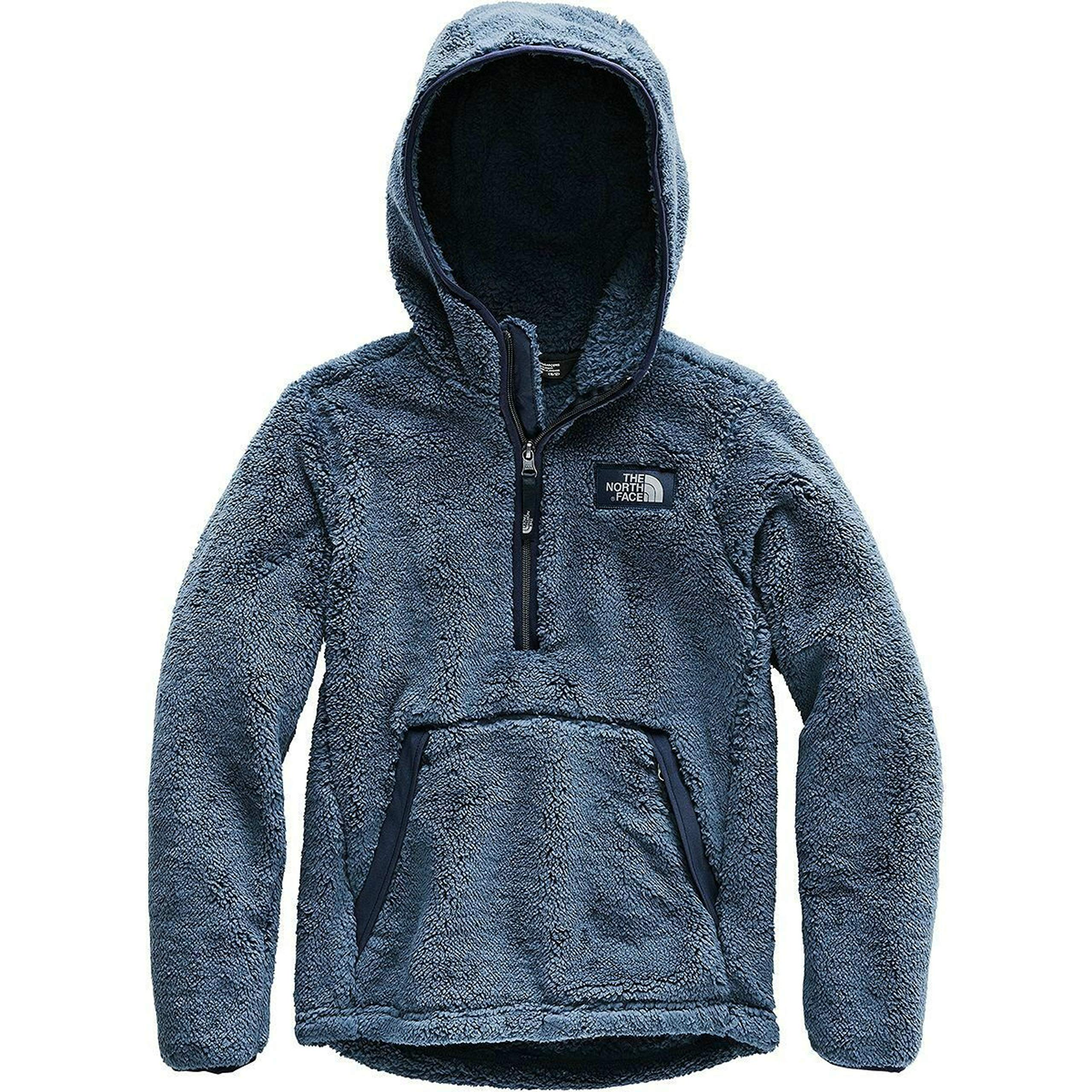 The North Face Youth Boys Campshire Pullover Plush Jacket (Large)