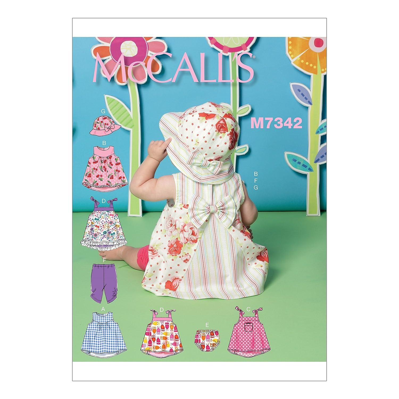 Bragas Y Diademas Mccalls Niños/'s Vestidos