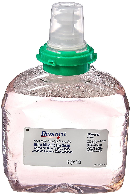 Amazon.com: Renown REN02543 Soap Foam, Ultra Mild Touchfree, 1200 mL ...