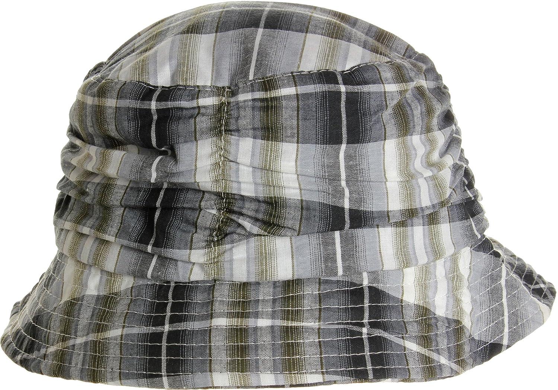 LL Women s Spring Summer Plaid Bucket Hats - Grey at Amazon Women s  Clothing store  2b3d975f797