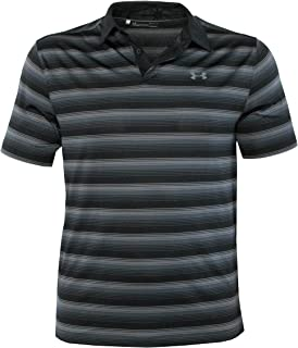 a970d1adf Under Armour Men's Performance Golf Polo CoolSwitch Shirt Striped Top