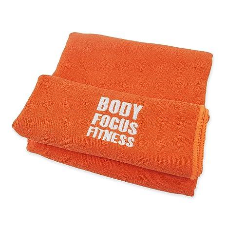 Body Focus Fitness®, toalla de microfibras, secado rápido ...