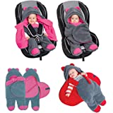 Sevira Kids - Sacco nanna universale, per passeggino o seggiolino auto, disponibile in diverse taglie e colori