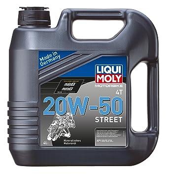 Liqui Moly 1616 Racing 20 W-50 1696 10 W-40 Aceite de motor