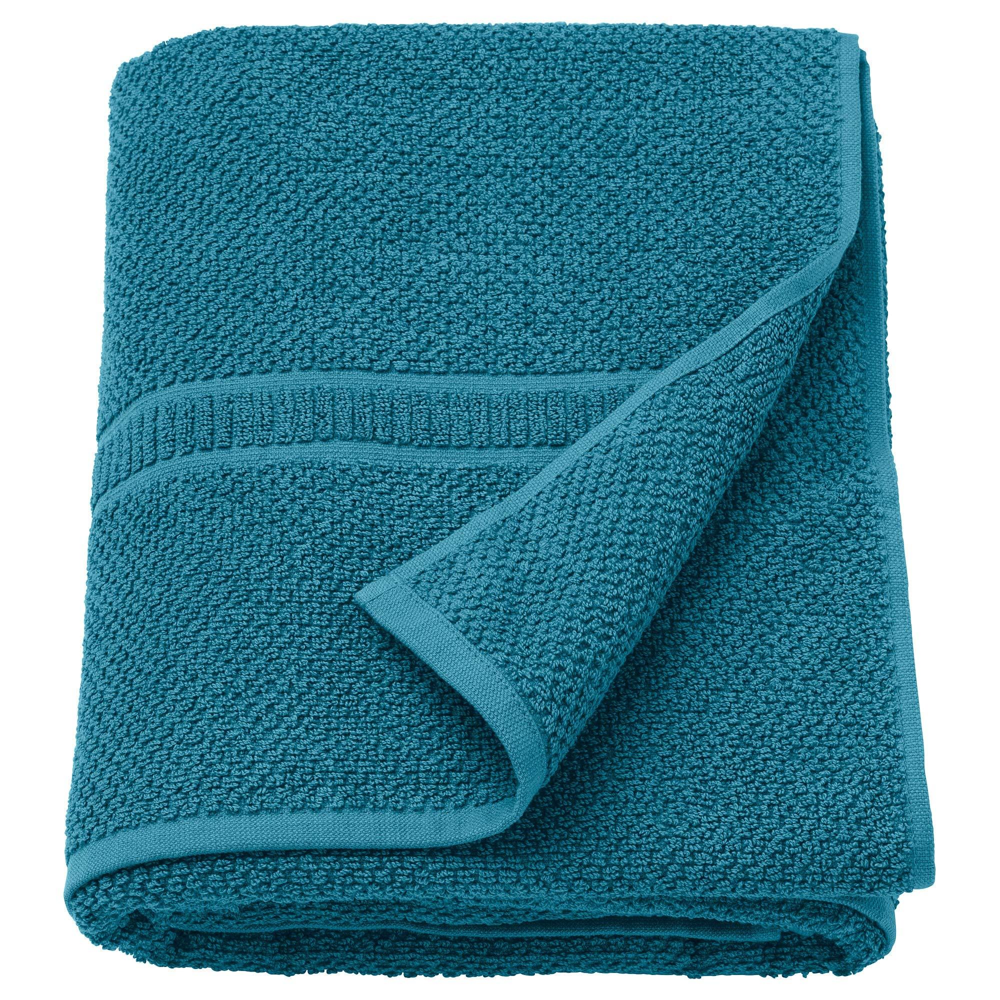 IKEA.. 803.132.00 Fräjen Bath Sheet, Green-Blue