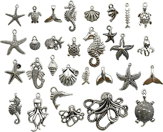 Butterfly Charm//Pendant Tibetan Antique Silver 5-40mm  30 Grams Accessory Crafts