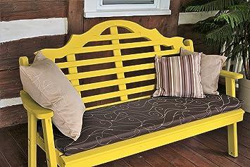 Mejor Banco de jardín, 5 Marlboro Lutyens funda Patio porche y asiento para los