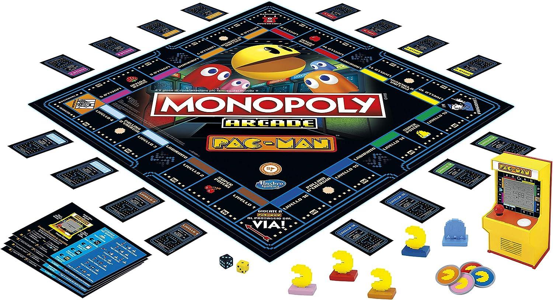 Hasbro Gaming Monopoly Arcade Pac-Man Juego en Caja para niños a Partir de 8 años: Amazon.es: Juguetes y juegos