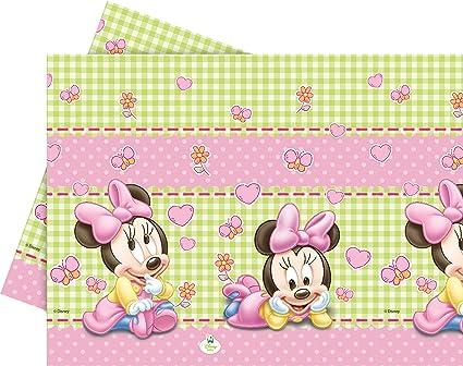 Amazon.com: Disney Baby Minnie Mouse Mantel de plástico, 1.8 ...