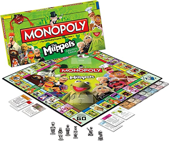 Monopoly The Muppets by USAopoly: Amazon.es: Juguetes y juegos
