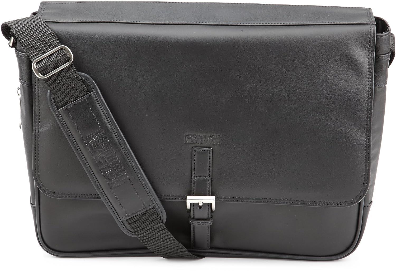 Kenneth Cole  524985 Expandable Computer Compatible Messenger Bag,Black,One Size