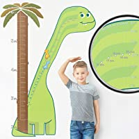 Watch Me Grow - 1:1 Scale Percentile Growth Chart for Kids, Dinosaur Wall Sticker Decor for Boys, Dinosaur Decorations