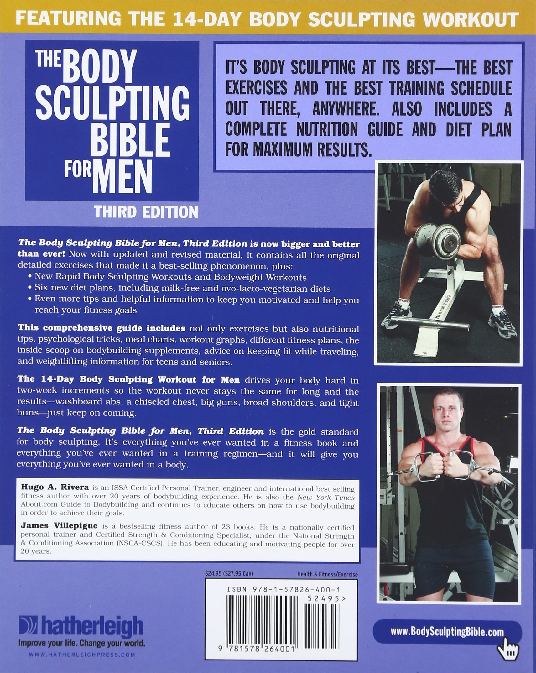 The body sculpting bible for men third edition james villepigue the body sculpting bible for men third edition james villepigue hugo rivera 9781578264001 amazon books 1betcityfo Choice Image