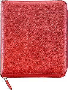 Miquelrius - Agenda 2020, Anillas Integral, Catalán, Lucca rojo, 117 x 182 mm (SVV): Amazon.es: Oficina y papelería