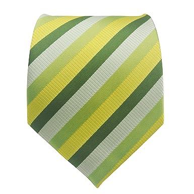 pilotman Hombre Verde de sarga formal de rayas neckties Plaid ...